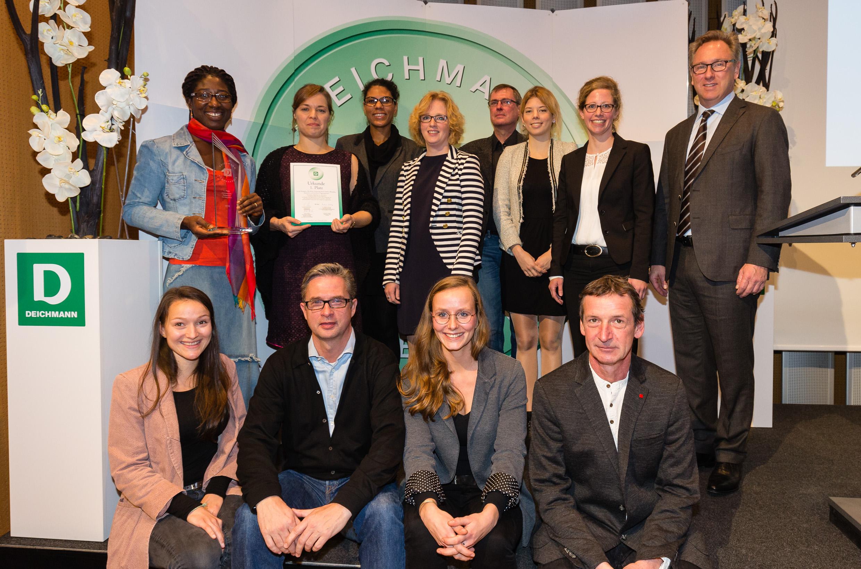 """1. Platz in der Kategorie """"Berufliche Förderung durch Vereine, öffentliche Initiativen und kirchliche Organisationen"""""""